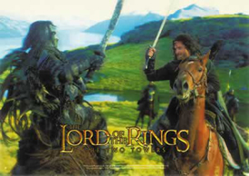 The Two Towers - Aragorn Fighting