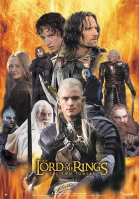 The Two Towers - Legolas Fire