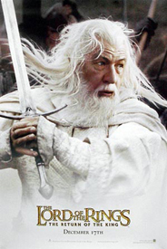 Return of the King Gandalf White