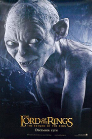 Return of the King Gollum