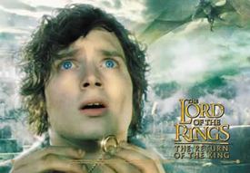 Return of the King Frodo with Ring
