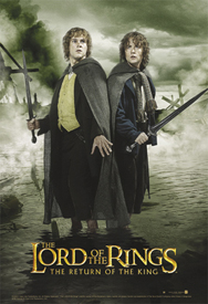 Return of the King Legolas Merry & Pippin