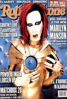 Manson Marilyn Rolling Stone (Style A)