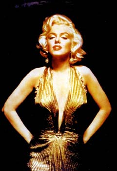 Monroe Gold Dress C