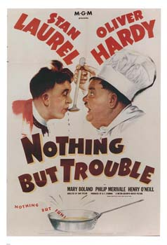 Nothing but trouble film