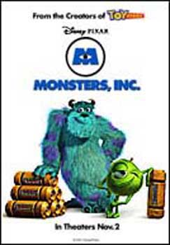 Monster, Inc (One Sheet)