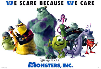 Monsters, Inc (Style D)