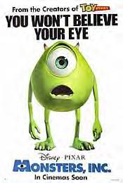Monster, Inc (EYE Style B)