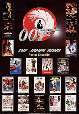 JAMES BOND CHECKLIST