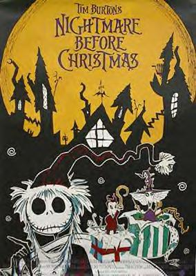 THE NIGHTMARE BEFORE CHRISTMAS (German)