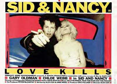 SID AND NANCY (British Quad)