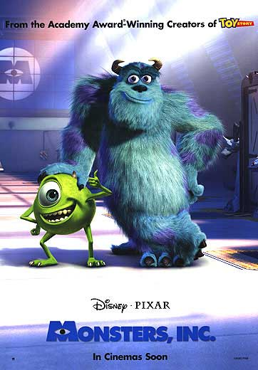 MONSTERS, INC (Style A)