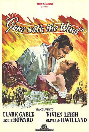 GONE WITH THE WIND (Italian)