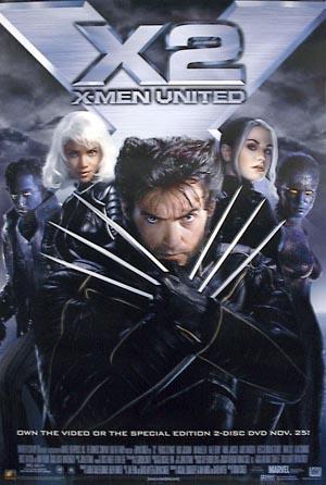 X Men 2 (DVD)