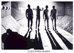 Clockwork Orange B/W