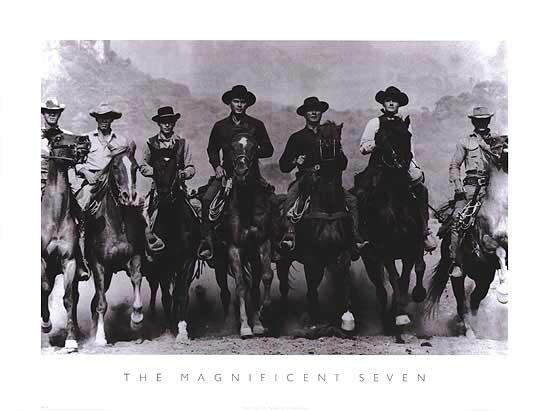 The Magnificent Seven Print