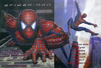 Spider-Man (Combo of 2 posters Style F)